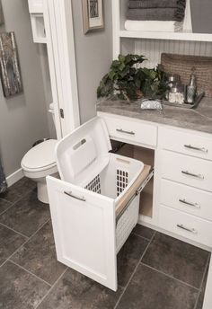 You are going to love these absolutely ingenious ideas and DIYs for bathroom.You are going to love these absolutely ingenious ideas and DIYs for bathroom organization and storage to help you create the most organized bathro. Bad Inspiration, Bathroom Inspiration, Bathroom Renos, Bathroom Cabinets, Bathroom Vanities, Bathroom Renovations, Bathroom Flooring, Bathroom Furniture, Bathroom Interior