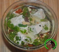 w mojej kuchni: Ser biały w ziołowej zalewie