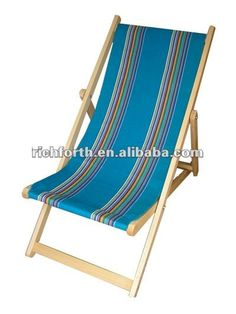 Foldable Wooded Beach Chair