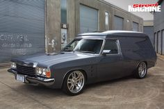 Built just in time for the 2007 nationals, this HZ Holden Panel Van scored Top Van on debut Australian Muscle Cars, Aussie Muscle Cars, American Muscle Cars, Custom Muscle Cars, Custom Cars, General Motors Cars, Holden Australia, Big Girl Toys, Big Trucks