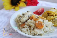 Food L'amor: Dijon Chicken & Rice with Italian Crookneck Squash