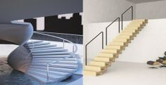 Two student winners in the first EeStairs Staircase Design competition   Bustler