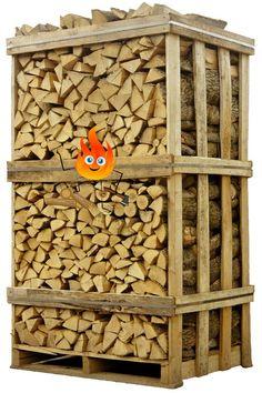 Jumbo pallet droog eikenhout gelijk stookbaar en gratis geleverd in heel Nederland #haardhout#open haardhout