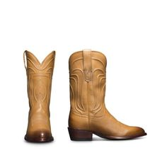 8577babd1c7b Women's Leather Cowboy Booties - Handmade Western Ankle Boots | The Penny