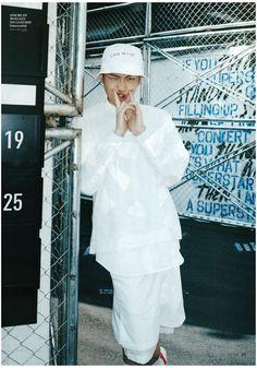 [Picture/Scan] Rap Monster at Ceci Korea Magazine (April Edition) [150320]