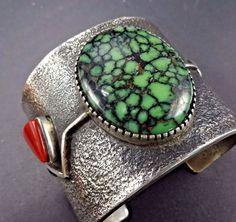 Rare EDISON CUMMINGS Vintage NAVAJO Sterling Silver & TURQUOISE Cuff BRACELET | Jewelry & Watches, Ethnic, Regional & Tribal, Native American | eBay!