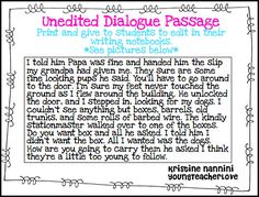 Teaching Dialogue in