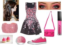 """Pink Spring"" by llhellenbrand on Polyvore"