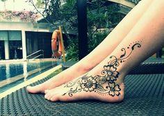 feet mehendi !!