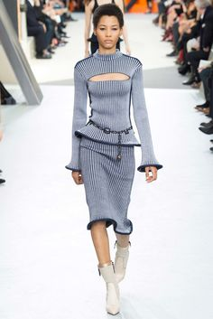 Lineisy Montero, Louis Vuitton, Fall 2015 Ready-to-Wear