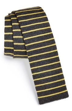 Paul Smith Stripe Wool Knit Tie available at #Nordstrom