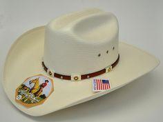 Larry Mahan 10X Alamo Straw Cowboy Hat