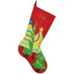 @Overstock - DIMENSIONS-Felt Applique Kit: Stocking. Classic designs and high- quality materials make up each Dimensions Kit. This kit contains die-cut polyester felt and acrylic/polyester felt; cotton thread; needle and easy instructions with alphabet.http://www.overstock.com/Crafts-Sewing/Festive-Tree-Stocking-Felt-Applique-Kit-19-Long/6770235/product.html?CID=214117 $12.47