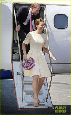 Prince William & Duchess Kate: Guadalcanal Island Jetsetters!