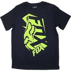 Fox Racing Boys Salut ShortSleeve Shirt Medium Indigo ** More info could be found at the image url.Note:It is affiliate link to Amazon.