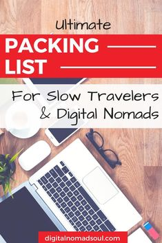 You are about to go on a long trip around the world, want to start a digital nomad life or simply travel around for a bit? Check out this comprehensive packing list with everything you need to pack before you leave. Be organized and travel better! #packinglist