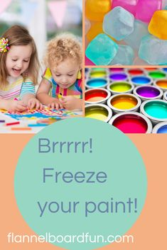 Super simple activity for preschoolers to do at home or at school! #flannelboardfun #preschoolart #preschool #play