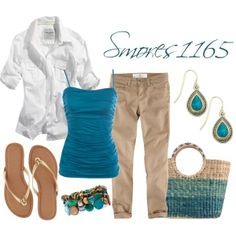 """""""Casual Khakis"""" by smores1165 on Polyvore"""