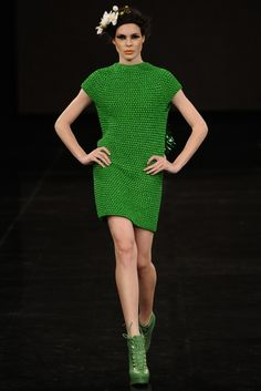crochet dress   Helen Rödel - damn. i have a crochet jacket to finish in very close to this color... DELICIOUSNESS.