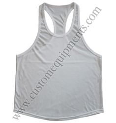 White Gym Stringers : Custom Equipment Gym Singlets, Mens Workout Shirts, Gym Outfit Men, Gym Wear For Women, Gym Clothes Women, Gym Tops, Athletic Tank Tops, Sportswear, Fashion