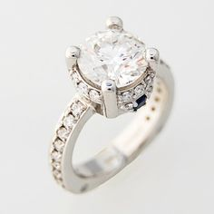 Incredible engagement ring by J Briggs & Co