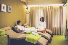 Relax at Myddfai Spa at Stradey Park Hotel, Llanelli, South Wales
