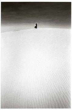 Jeanloup Sieff, Dune du Pilat, France, 1973