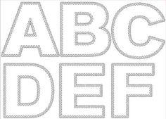 My alphabet Free Svg files