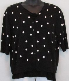 Details about Talbots NWT Plus Size Brown and White Polka Dot ...