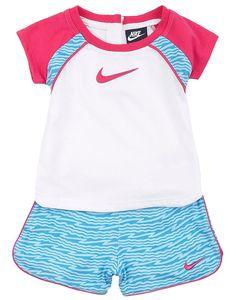 Nike Baby Girl Clothes Endearing Puma Baby Girls' 2Piece Striped Jacket & Yoga Pants Set  Kids