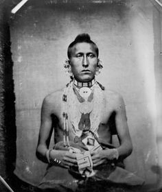 As-sau-taw-ka or White Horse- Pawnee, 1869