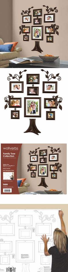 Frames 79654: Family Tree Collage Photo Picture Frame Set Wall Art Decoration Home Decor Gift -> BUY IT NOW ONLY: $68.5 on eBay!
