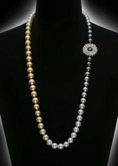 Mikimotos Sun & Clouds pearl necklace will be revealed exclusively at Baselworld 2014 with a pair of matching Sun & Clouds earrings.