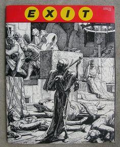 EXIT Art Magazine  Large Format Esoteric Art Mag  by UnusualBooks