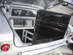 1963 Chevrolet Impala Flat Panel TV