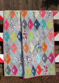 Last three soccer quilt kit sports diy do it yourself project fabric diamond detour quilt pattern solutioingenieria Gallery