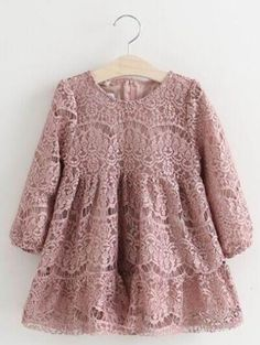 Dress Brokat Longgar Ideas For 2019 Dress Brokat, Kebaya Dress, Dress Anak, Kebaya Brokat, Elegant Party Dresses, Trendy Dresses, Girls Dresses, Floral Dresses, Lace Toddler Dress