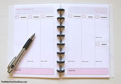 How to make your own planner using the Arc notebook system                                                                                                                                                                                 More