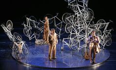 Ai Weiwei designed the stage set for Alexander Zemlinsky's opera Eine florentinische Tragoedie at the Theatre Bremen.