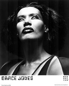 Grace Jones by Greg Gorman 1986