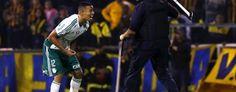 Foto: Gabriel Jesus - Rosário Central 3 x 3 Palmeiras - Copa Libertadores da América 2016 (AP)