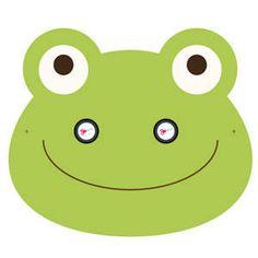 Printable Halloween Masks, Printable Masks, Printables, Free Printable, Safari Theme Birthday, Birthday Party For Teens, Frog Mask, Baby Sensory Board, Drama Masks