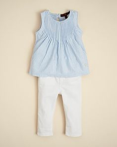 7 For All Mankind Infant Girls' Pleated Top & Skinny Jeans - Sizes 0-9 Months | Bloomingdale's#fn=spp%3D91%26ppp%3D96%26sp%3D4%26rid%3D95%26spc%3D524
