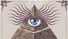 The Illuminati was an secret society made up of influential intellectuals of the time. Also known as the Bavarian Illuminati, they opposed the Church& control over science; promoted the education of women; and opposed state oppression. Illuminati Secrets, Illuminati Conspiracy, Illuminati Drawing, All Seeing Eye Illuminati, Pyramid Eye, Aleister Crowley, Geometric Tattoos, Occult, Drawing Hands