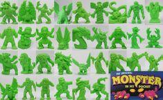 Monster In My Pocket - Series 1 - Neon Green Green Monsters, My Pocket, Classic Toys, Digimon, Neon Green, Ebay