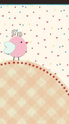 Little Bird Wall Android Wallpaper.
