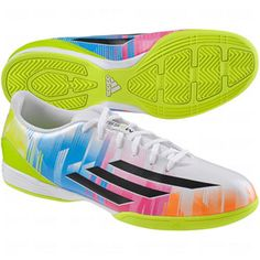 adidas Mens F10 Messi Indoor Soccer Shoes