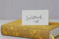 DIY: Literary Guestbook - Project Wedding