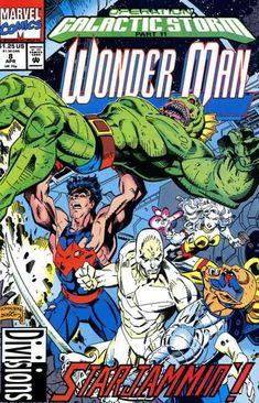 Wonder Man Comic Issue 8 Modern Age First Print 1992 Gerard Jones Johnson Harps Archie Comic Books, Archie Comics, Comic Books Art, Comic Art, Book Art, Young Avengers, New Avengers, Marvel News, Wonder Man