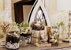 Shabby Sweet Cottage: Pickle Jars and Bubble Bowls